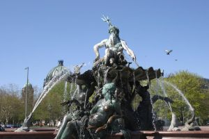 Neptune fountain 1 by almudena-stock