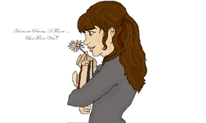 Hermione Gets A Flower by Scarhead