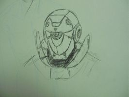 helmet doodle by china101
