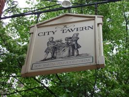 City Tavern Sign by steveclaus