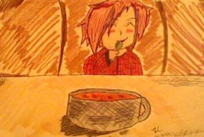 Very quick doodle. by Sabriel-chan