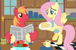 Breakfast at the Fluttermac house. by BobtheLurker