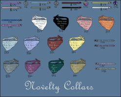 Novelty Collars by Hollow-Heaven