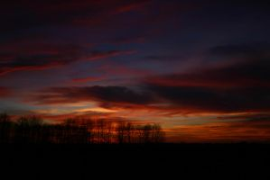 red sky by stevecrafter