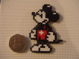 mikey mouse bead art by TOPGUN4
