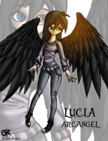lucia the arcangel by grimtalesreaper