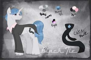 Black Tie's Reference by StagetechyArt