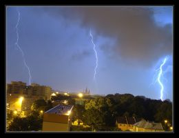 2009.07.08 Lightning VII Lodz by Atmospheric-Bloo