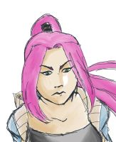 This Person Has Pink Hair by Zxel