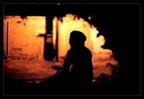 silhouette silhouetting by Tacet