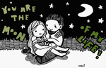 You Are The Moon Of My Life by xXKaseiXx