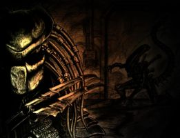 AvP Preview by sketchtricks