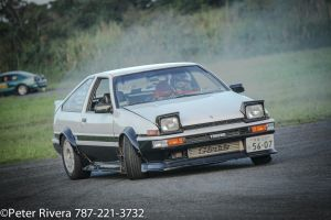 Edited Drifting Hatchiroku Corolla by Caramanos2000