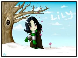 Severus Loves Lily by aunjuli