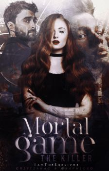 Mortal Game (Book Cover) by stereo-cryss