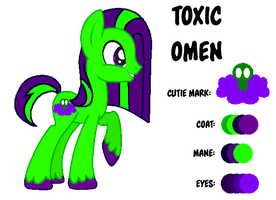 MLP:Toxic Omen (Disguised) Profile by kiananuva12