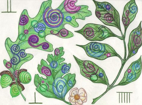 Oak, Ash, and Thorne by Spiralpathdesigns