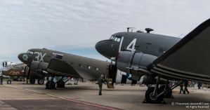 2 DC3s, B-25 Mitchell and PBY Catalina by TPJerematic