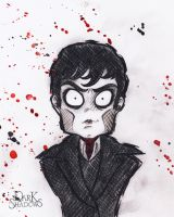 Barnabas Collins the Cartoon by nezcabob