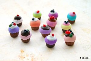 Cupcakes by Nozomi21