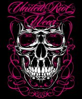 United Riot Skull by MisterChek