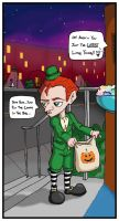 Ikkle Halloween by worm-baby