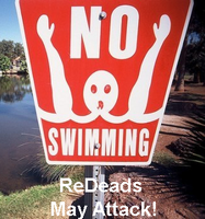 No Swimming ReDeads May Attack by Enlightenup23