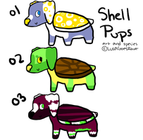 Shell Pups: Batch 1 OPEN by TheAdoptShop