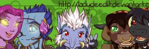 Commission - PeM - Banner by LadyRosse
