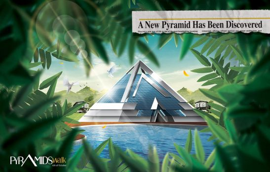 PyramidsWalk AD by HABASHY