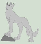 Original Base - Proud Wolf by Mature-Bases