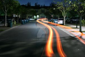 Light Trail by blo0p