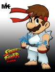 Street Fighter Mario by MightyMusc