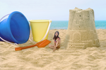The Queen of The Sandcastle by intershrinker