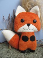 Happy the orange fox by mypetmoon