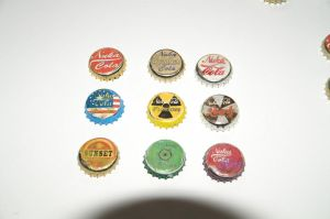Fallout Bottle Cap Props 3rd Generation by Dornogol