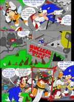 Buzz on Sonic Page 1 by MattMiles