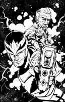 Lords of Space and Time Sketch by Ben-Wilsonham