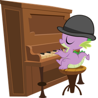 Piano Spike by BonesWolbach