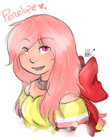 Penelope: Human by xBadgerclaw