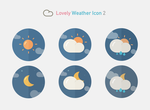 Lovely Weather Icon 2 by customicondesign
