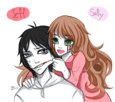 jeffxsally by DeluCat