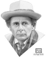 Sylvester McCoy by andepoul