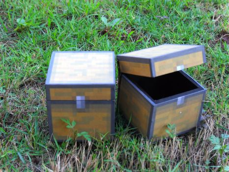 Small Minecraft Chests by RonyeryX