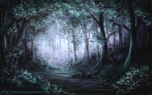 Dawn Forest by Anniasha