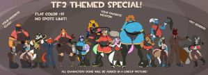 YCH Super special tf 2 themed partay! by xSkullstomperx
