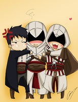 We love Altair! by Hikari-15-L
