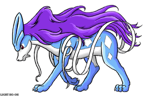 Suicune Chibi by TheLegendaryThree