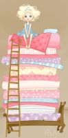 Princess and the Pea- Hanasu by childrensillustrator