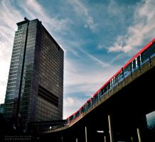 Poplar Train by pkritiotis